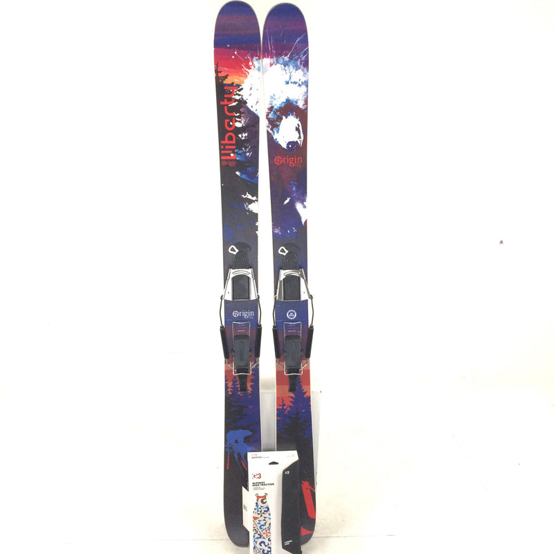 174cm Liberty Orgin 116 Voile Sx2 Binding G3 Skins Untrimmed - USED