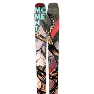 178cm Moment Tahoe 96 w/ 22 Designs Inserts - Used