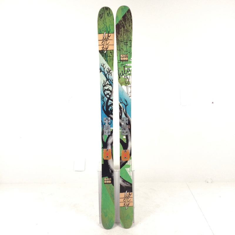 187 Liberty Helix w/ Older Rottefella Freeride Second Ski Kit - Used