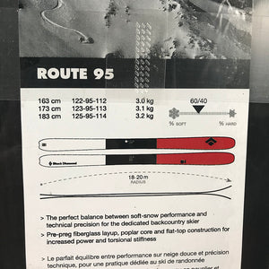 173cm BD Route 95 Unmounted - New