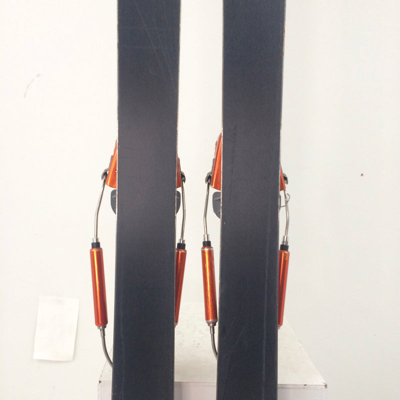 167cm K2 World Piste Volie Hardwire with BD Skins - USED