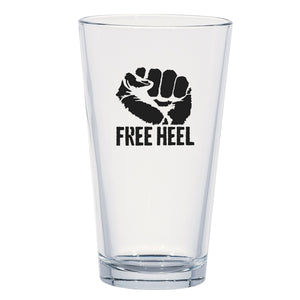 Free Heel Resistance Pint Glass
