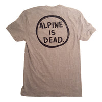Tele Colorado Alpine Is Dead - T-Shirt