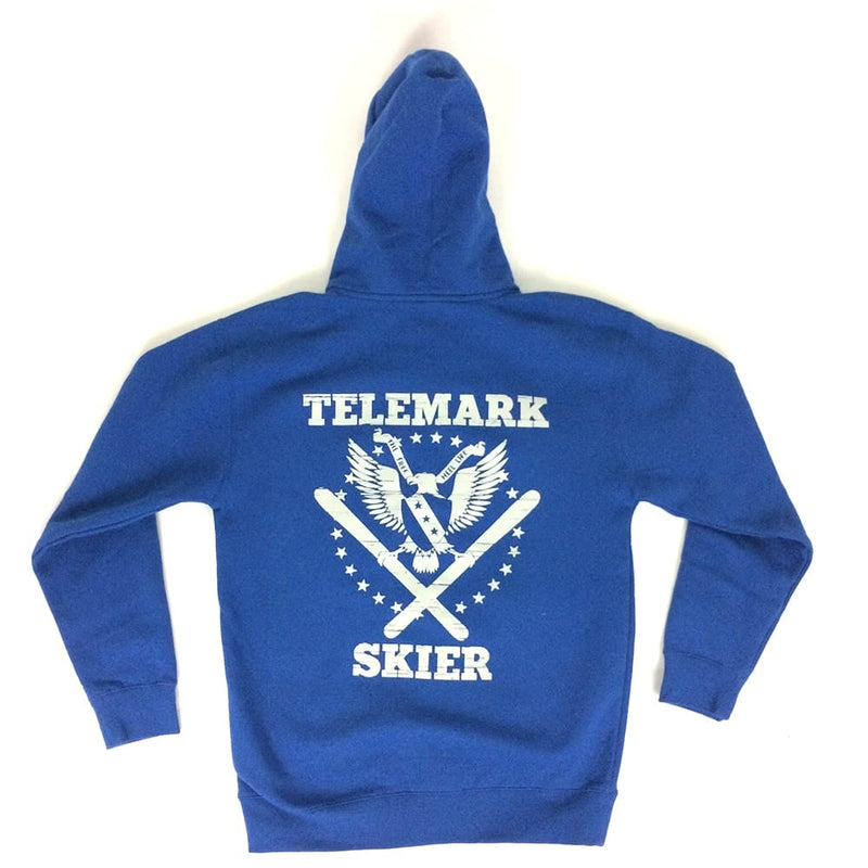 Telemark Freedom Eagle Zip-Up Hoodie