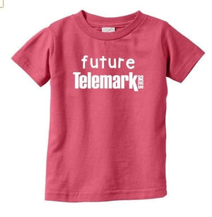 Future Telemark Skier Infant or Toddler T-Shirt