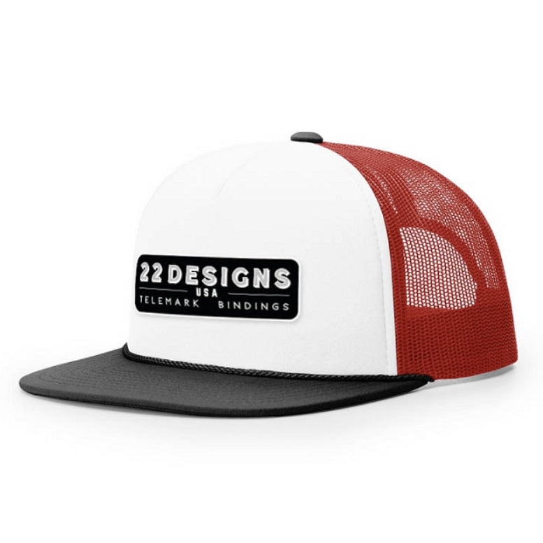 22 Designs Logo Trucker Hat