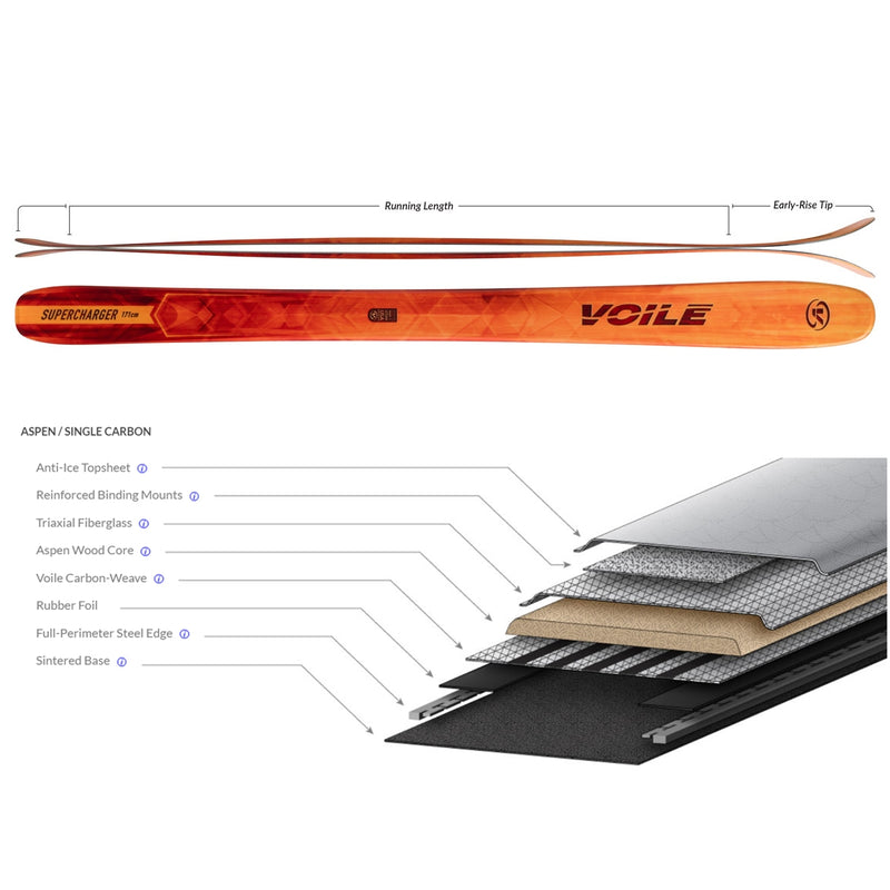 Voile SuperCharger Ski