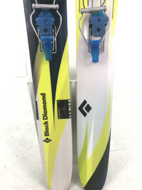 185cm Black Diamond Gigawatt W/ Black Diamond 02 Bindings (Used)