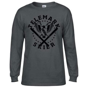 Freedom Eagle Long Sleeve - Dark Grey