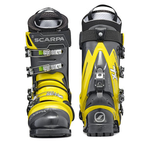 Scarpa TX Comp NTN Telemark Boot double boot front and back
