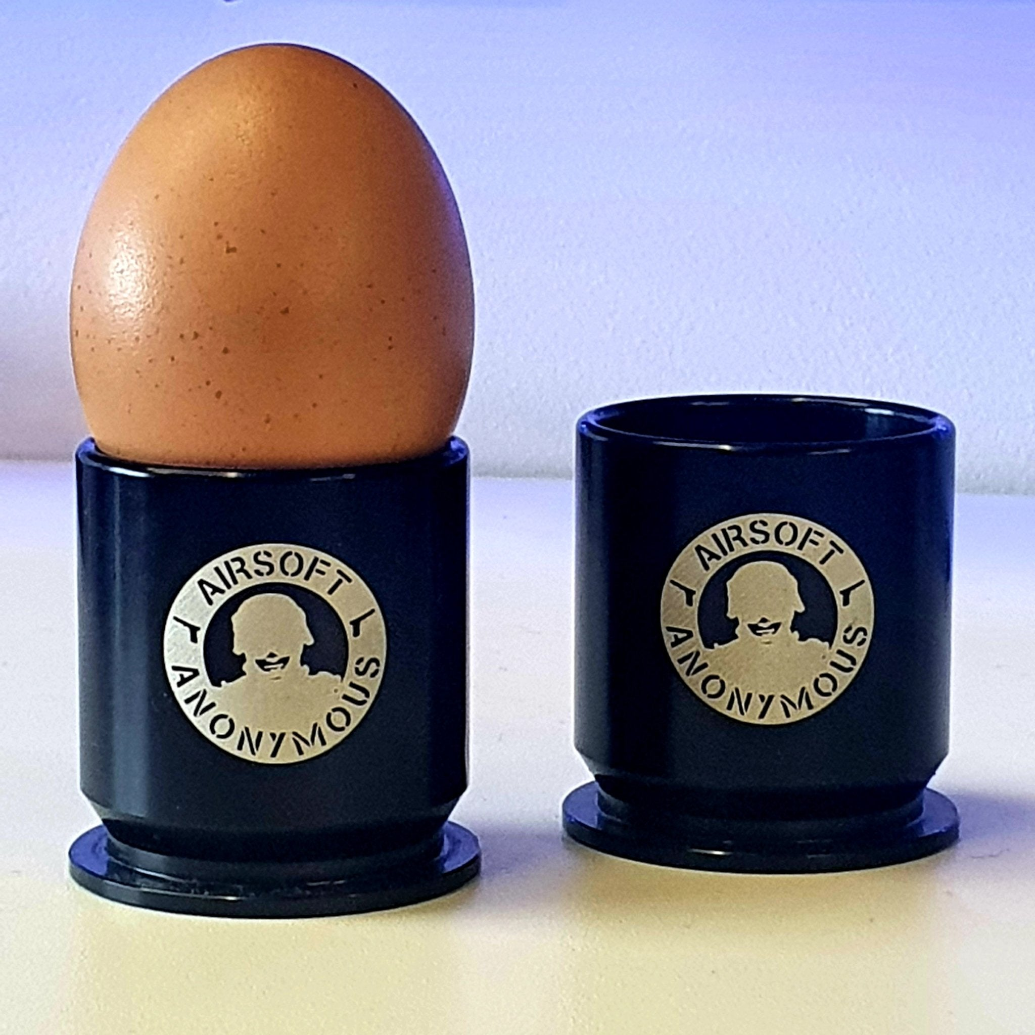 Airsoft Anonymous 40mm Casing Shot Glass/Egg Cup