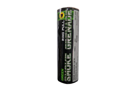 Black Cat Ring pull smoke grenade (Green)