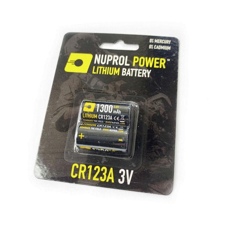 CR123A 3V Battery Twin Pack
