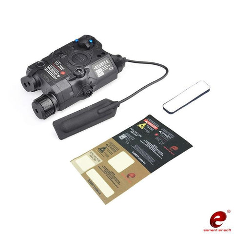 ELEMENT PEQ-15 LA-SC UHP LASER WITH LED LIGHT BLACK (EL-EX396B)