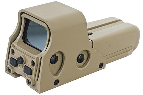 GK Tactical 552 Open Red Dot Holosight - TAN