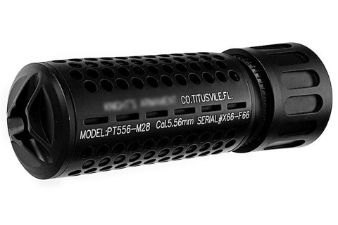 GK Tactical KAC QDC / CQB Suppressor (14mm CCW) - Black
