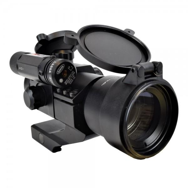 JS-TACTICAL RED DOT 38MM LENS WITH RED LASER (JS-HD30D6)
