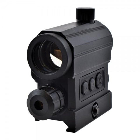 JS-TACTICAL RED DOT WITH RED LASER (JS-HD22X)