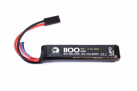 Nuprol Power 1100mah 7.4v 20c Stick Type (Mini Tamaya)