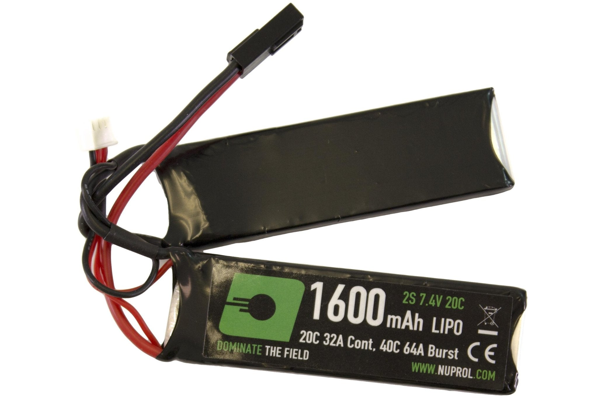 Nuprol Power 1600MAH 7.4V LIPO Nun-Chuck
