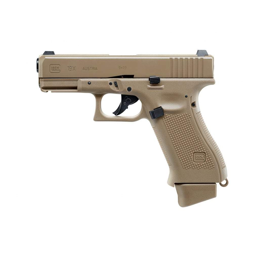 Umarex Glock 19X CO2 Semi-Blowback Pistol