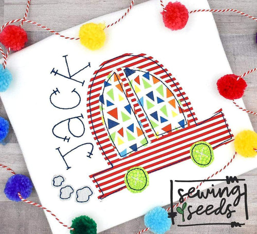 Car Applique SS - Sewing Seeds