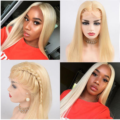 613 Blonde Wig Lace Front Straight Human Hair Wigs Long Blonde Wig Best Lace Front Wigs