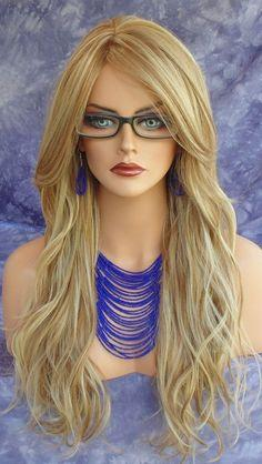 Lace Front Wig Blonde Wig Silky Straight Glueless Lace Wig Human Hair 14 Inch Color 27