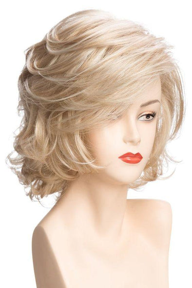 Lady Women Short Wave Hair Wig Blonde with Highlights Full wigs Color For choose
