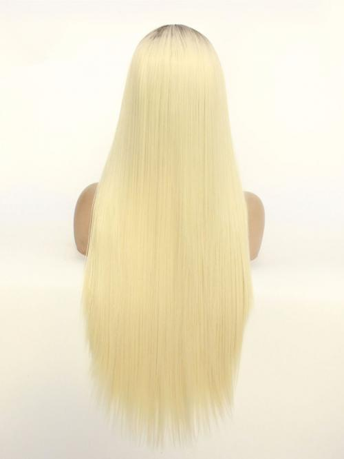 Lace Front Wig Blonde Full Lace Human Hair Wigs For Black Women Pre Plucked Hairline With Baby Hair Brazilian Straight Remy Hair 120%