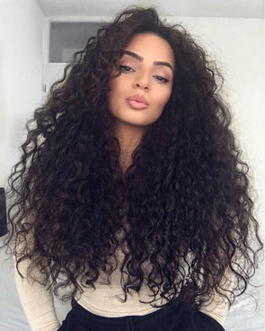 Black Wave Lace Front Wigs 12 Inch Loose Wave Wig