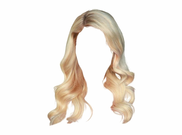 Long Ombre Brown Wavy Wig Blonde Cosplay Wigs For Women Glueless Hair High Density Temperature Black Gray