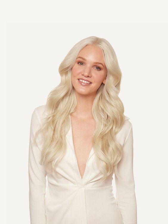 Lace Front Wig Platinum Wig Light yellow long curly Cosplay Party women girls full hair wigs
