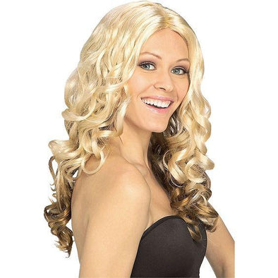 Hair hoop Double braid wig Long Wave wig 7color available long 60cm free shipping
