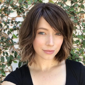 Short Curly Brown Wig