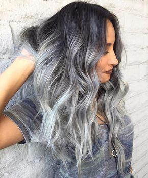 Gray Wigs Lace Frontal Wigs Gray Toner On Blonde HairBlue Grey Hair