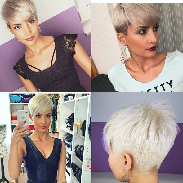 Gray Wigs Lace Frontal Wigs Best Semi Permanent Hair Color To Cover GraySmoky Gray Hair Color