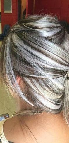 Gray Wigs African Americans Best Hair Dye To Cover Gray Hair White Blonde Bob Wig