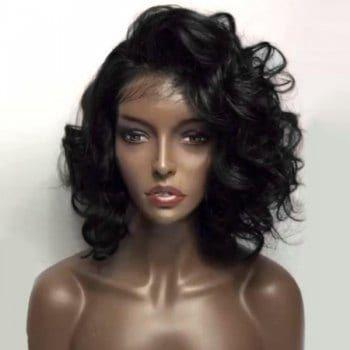 Short Wigs For Black Women short curly hair wig black