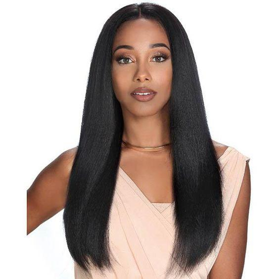 Lace Front Hair Wigs gray and black ombre wigs