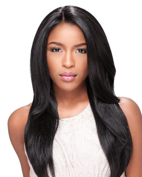 Lace Front Hair Wigs black wig with purple highlights