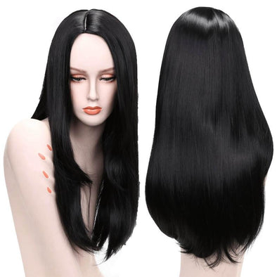 Lace Front Hair Wigs Long Straight hair wig black