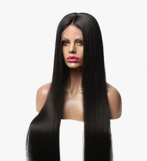 Lace Front Hair Wigs blond and black wig