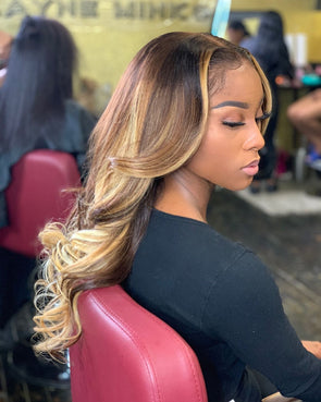 2020 Fashion Ombre Blonde Wigs $30 Lace Front Wigs