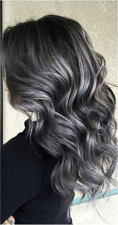 Gray Lace Frontal Wigs Best Hair Gel For Grey Hair