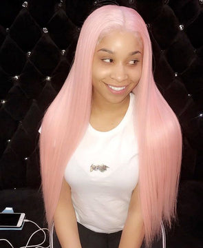 Lace Frontal Wigs Pink Hair Adore Neon Pink For Women