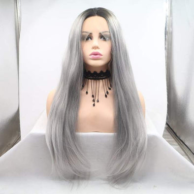 Wigs For White Women 100 Human Hair Gray WigsGray Human Hair Wigs