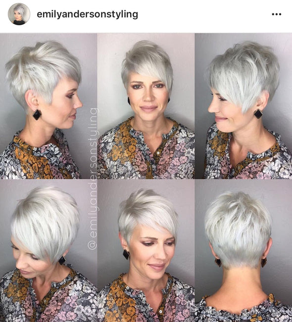 Gray Wigs Lace Frontal Wigs Best Semi Permanent Hair Dye To Cover GreyGray Hair Extensions Human Hair