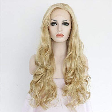 2020 Fashion Ombre Blonde Wigs 100 Human Hair 360 Lace Front Wigs