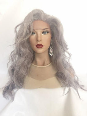 Wigs For White Women 100 Grey Coverage Hair DyeGray Human Hair